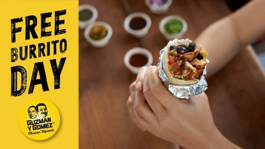 Lunch Is Sorted! Guzman y Gomez Upper Coomera Is Having A FREE BURRITO DAY!