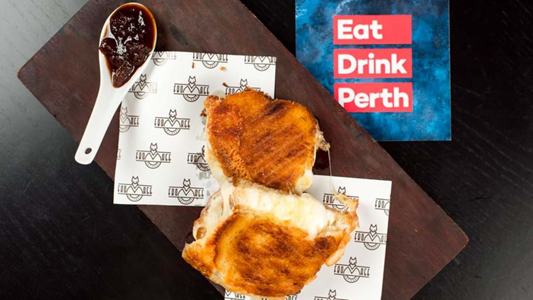 There's A TEN CHEESE Toastie Available In Perth & I've Never Wanted Anything More