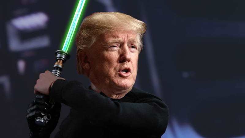 Article heading image for Donald Trump Suggests Space Force - Explains It's Just Like The Air Force Only In Space