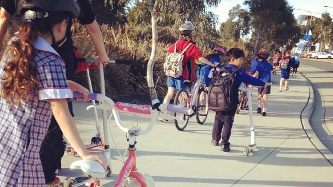 Get Onya Bike For Ride To School Day In Hobart Next Week