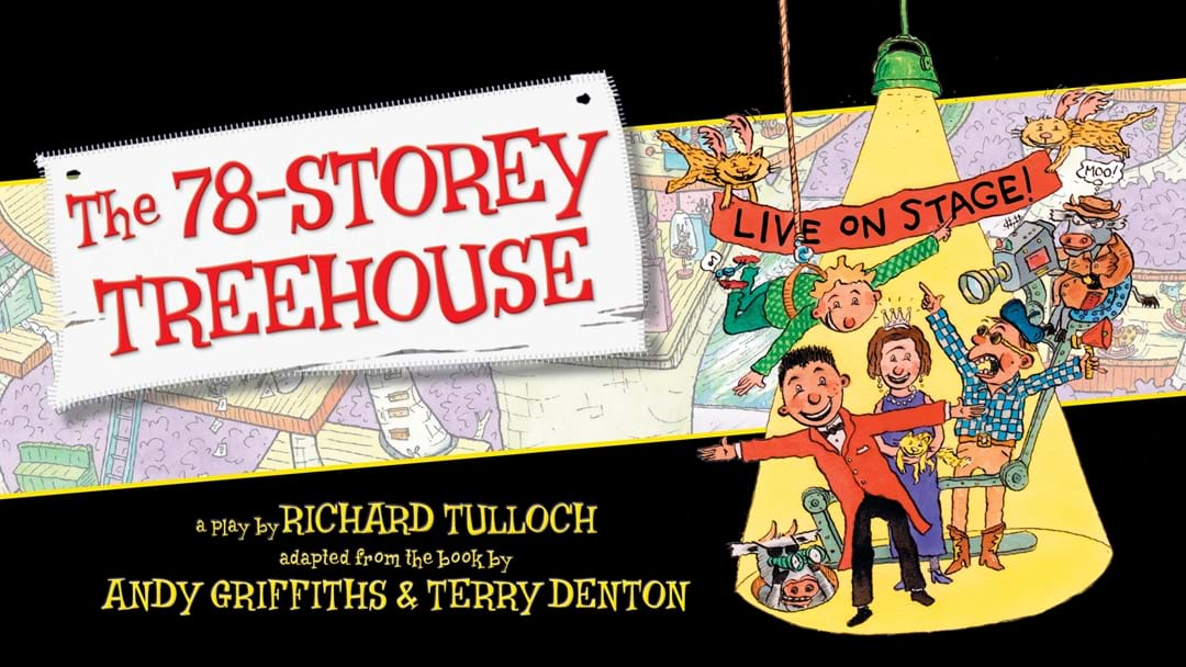 Win a family pass to The 78-Storey Treehouse