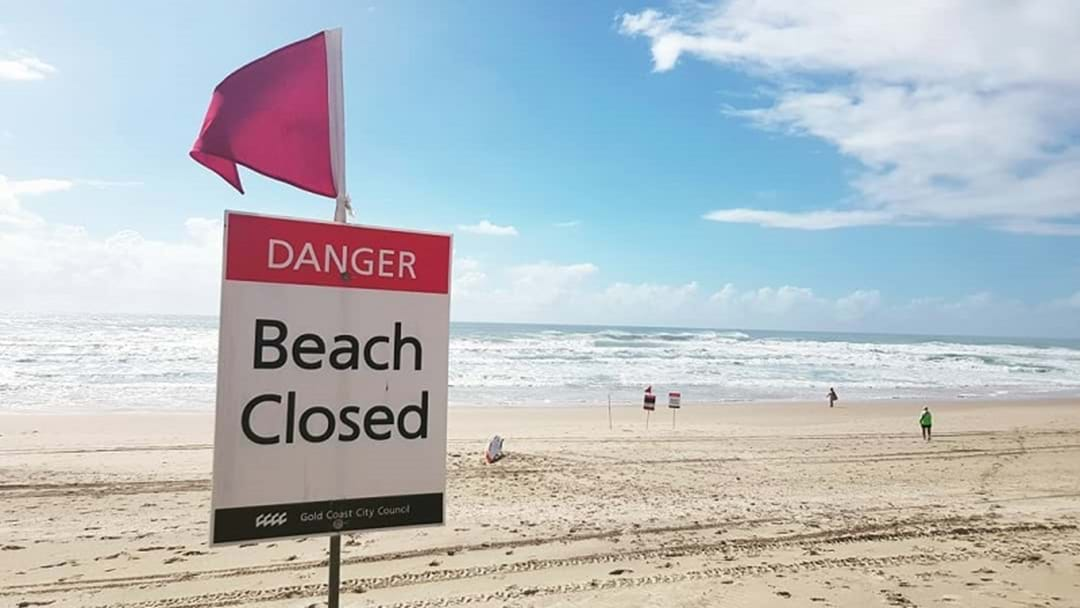 Gold Coast Beaches Closed For Second Day