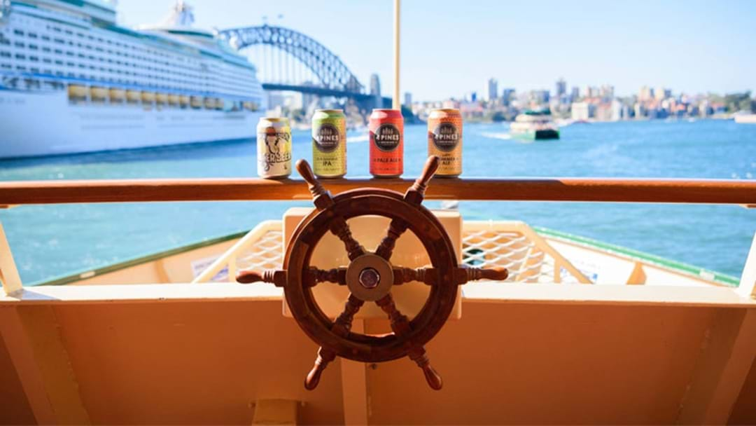 There's Now A Bar On Board Some Sydney Ferries To Make Your Commute #Lit