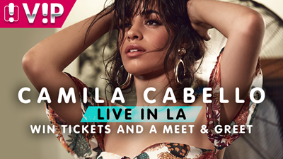 Win your way to Camila Cabello in Hollywood!
