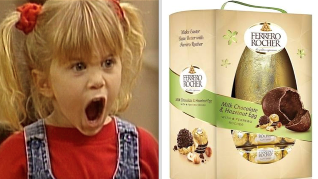 A Giant Ferrero Rocher Easter Egg Exists & It's The Food Of Gods