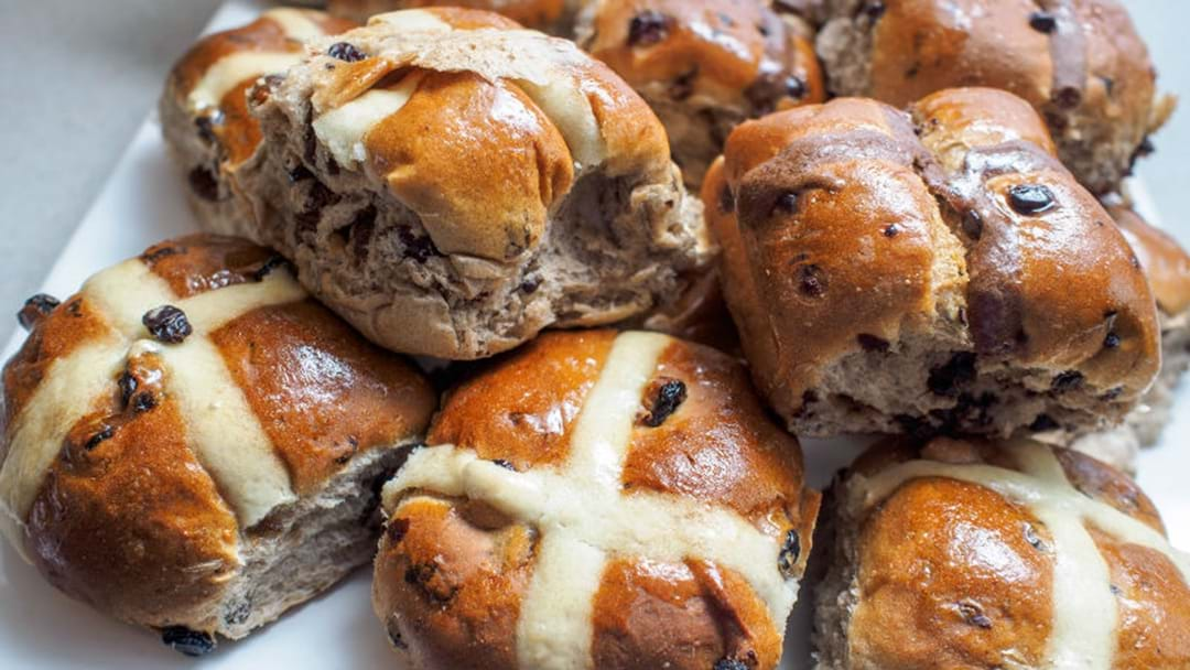 CANBERRA'S BEST HOT CROSS BUNS