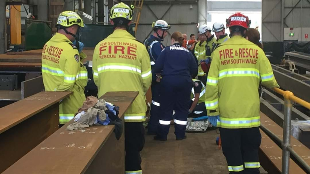 Worker Crushed By Steel Beam In Sydney's West