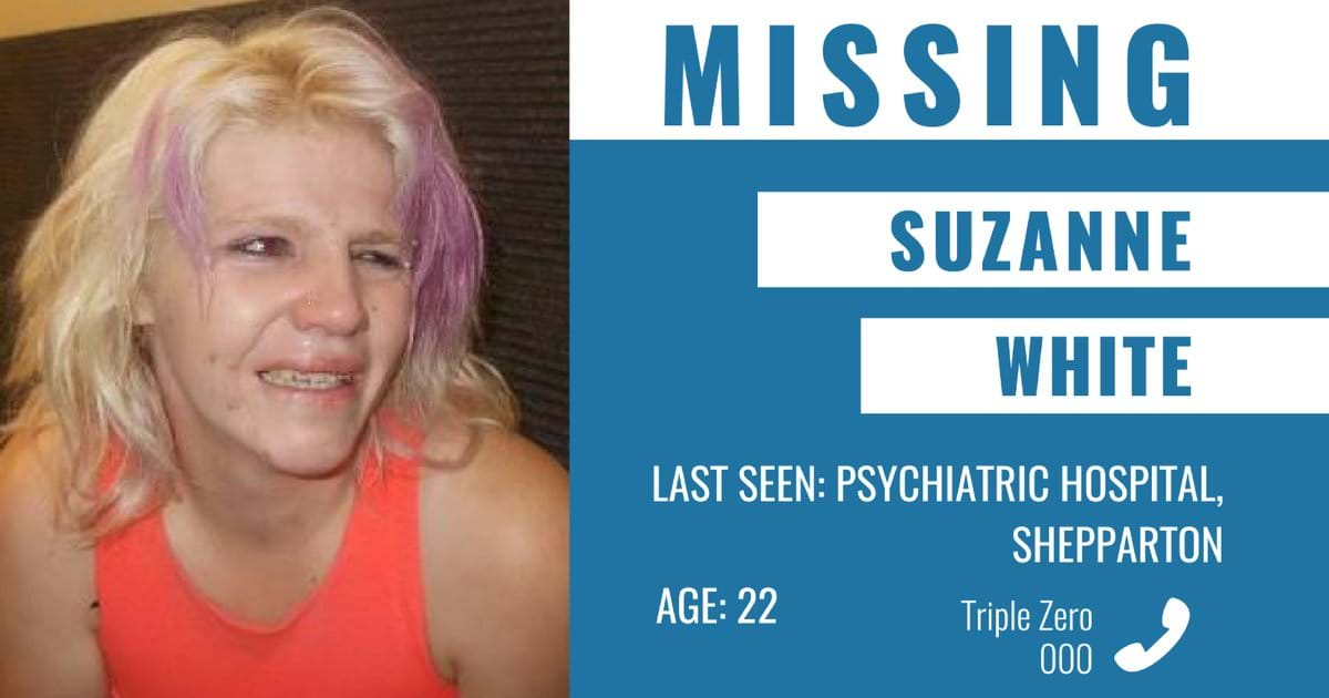 Article heading image for Search for missing woman Suzanne White