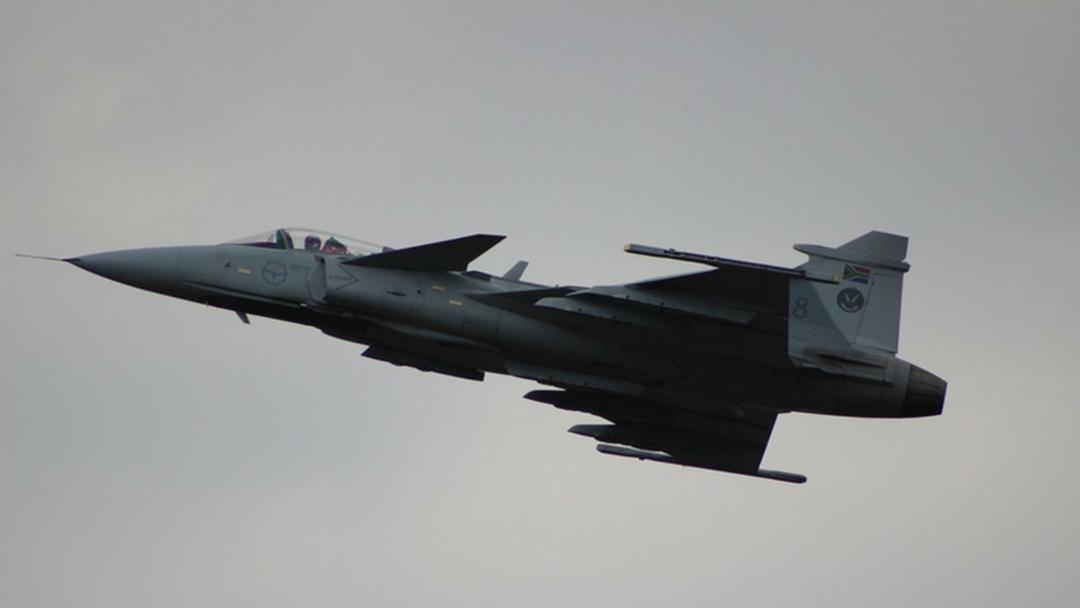 Fast-jets conducting low flyover Bonegilla Friday