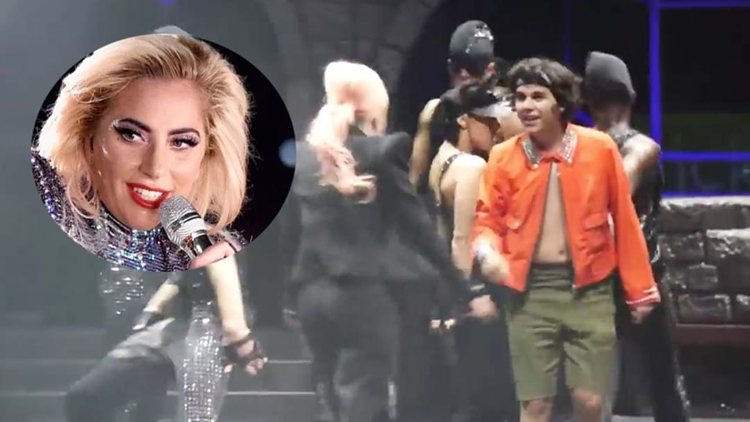 This Gaga Fan SLAYS Her Choreography After Being Pulled Up On Stage!