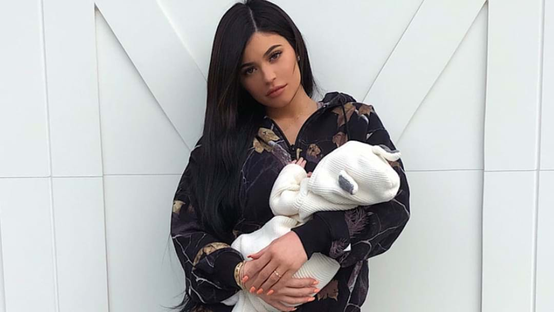 Kylie Jenner Has Posted Her First Close Up Selfie With Mini-Me Baby Stormi
