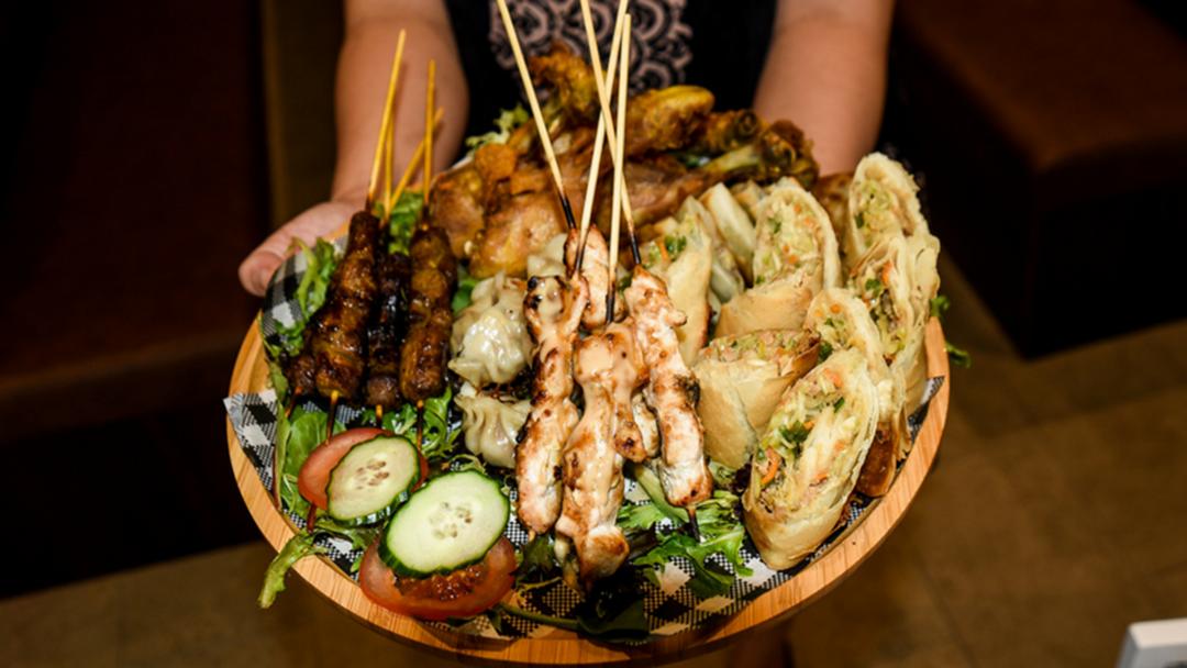 INSIDE LOOK: New Skewers Diner At The Oasis In Broadbeach