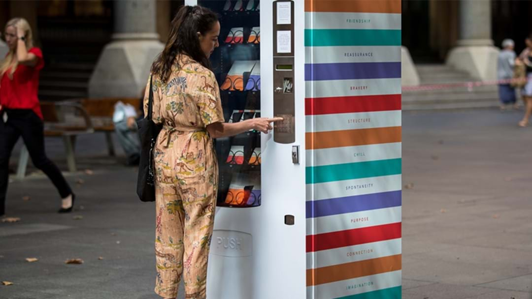 Mental Health Vending Machines Have Popped Up In Sydney