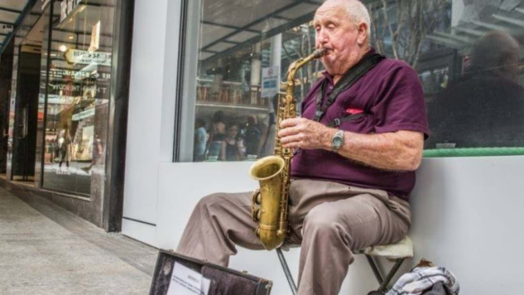 There's An Event To Celebrate 30 Years Of Brisbane's Most Iconic Busker, Graham
