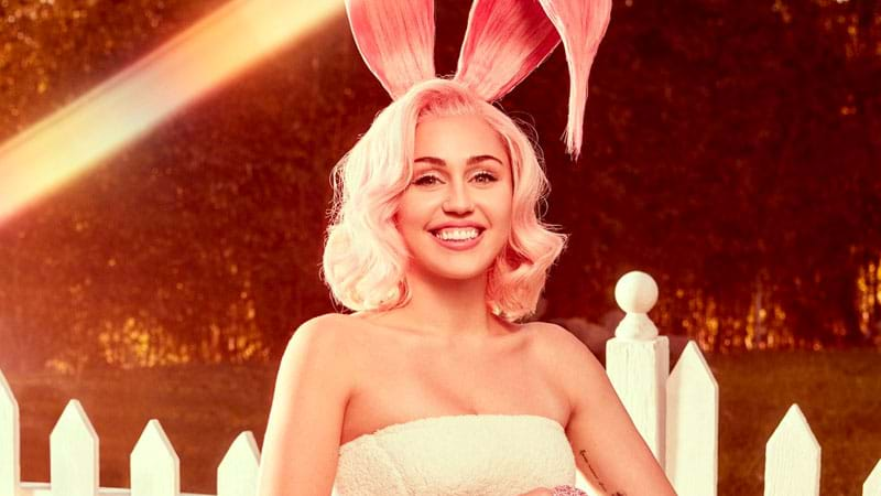 Miley Cyrus Poses With Pastels for 'Vogue' Easter Photo Shoot