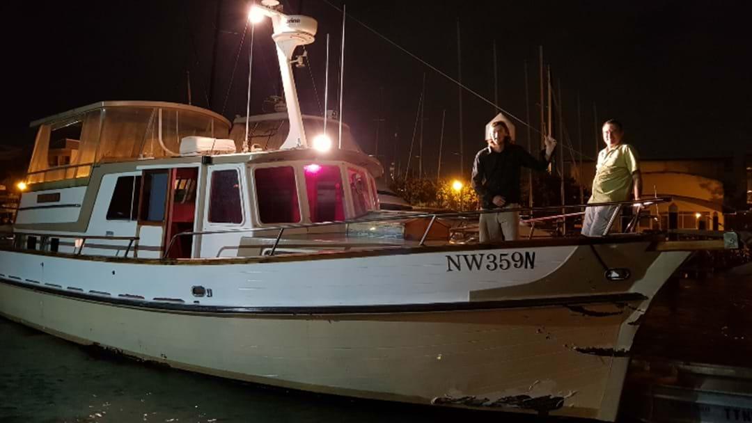 Dramatic Cruiser Rescue Off The Coast Of Newcastle