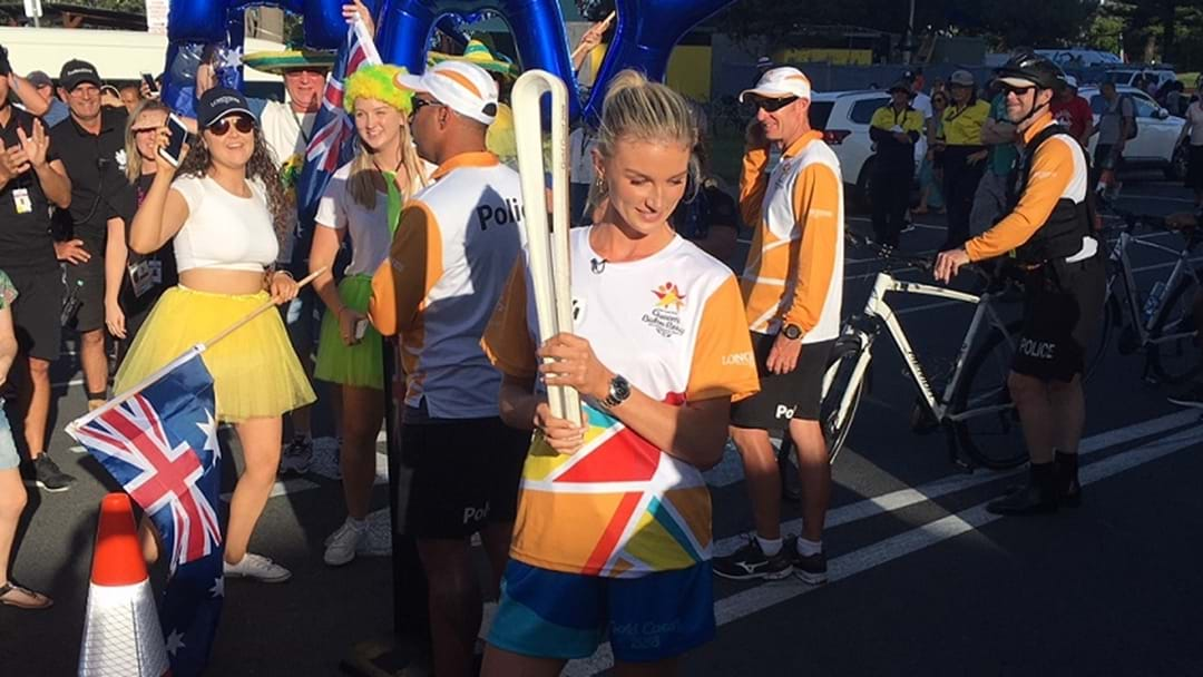 Queen's Baton On Final Stretch In The Hands Of Champions
