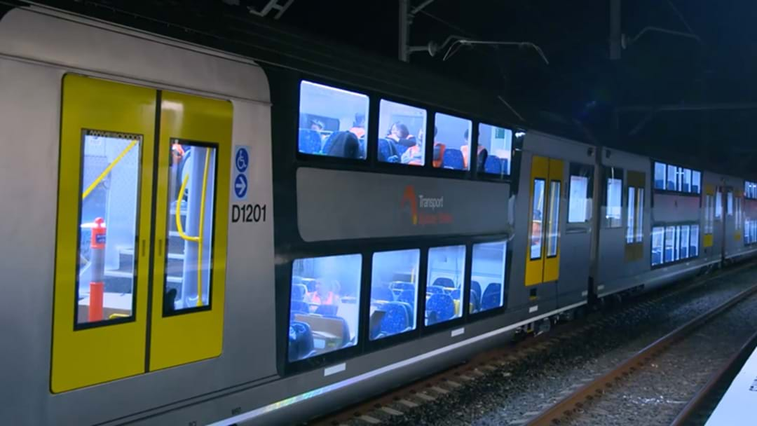Here's Our First Look At The New Sydney Trains