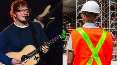 Do You Think This Perth Tradie Is The Next Ed Sheeran?