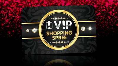 Win yourself a VIP Shopping Spree