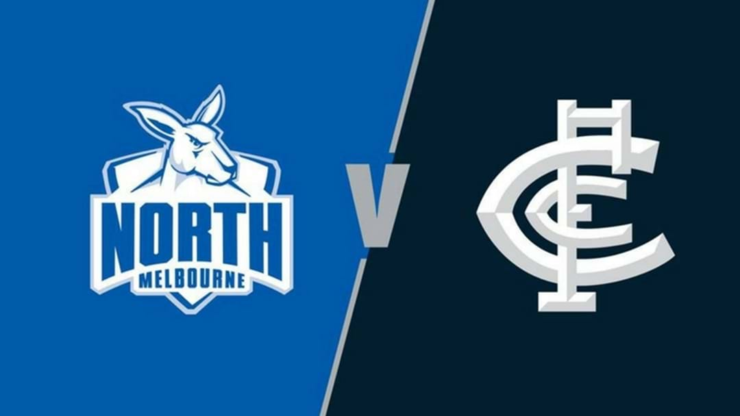 Head To Round 4: North Melbourne v Carlton This Saturday!