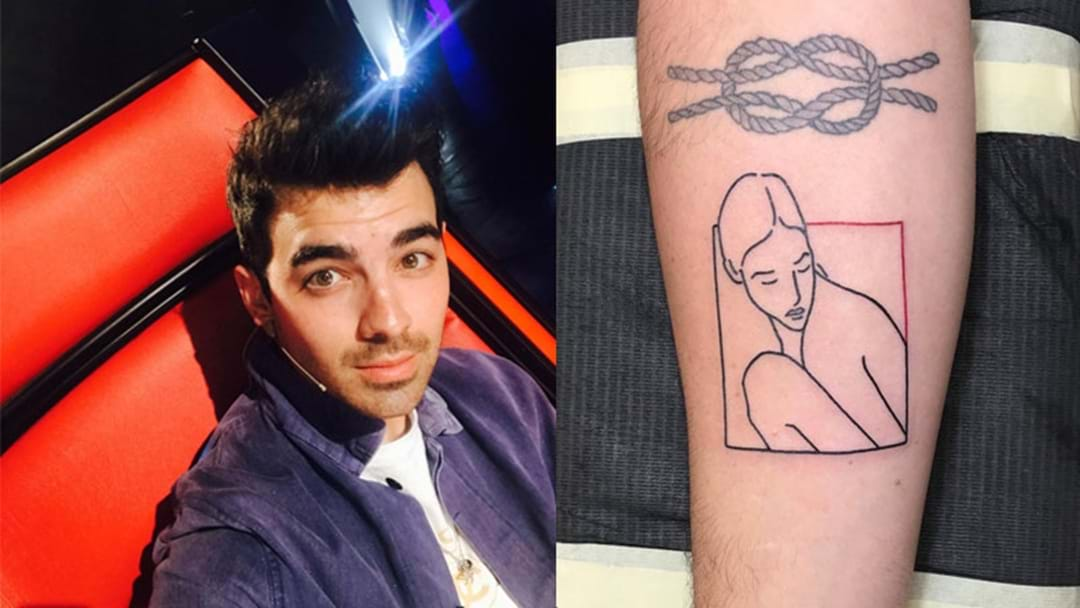 Joe Jonas Reveals The Woman In His New Tattoo Is Not Fiancé Sophie Turner