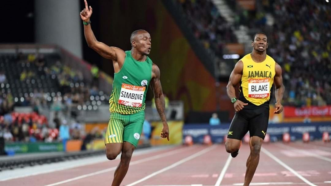 BOILOVER: South African Power Pair Stun Yohan Blake In The 100m Sprint