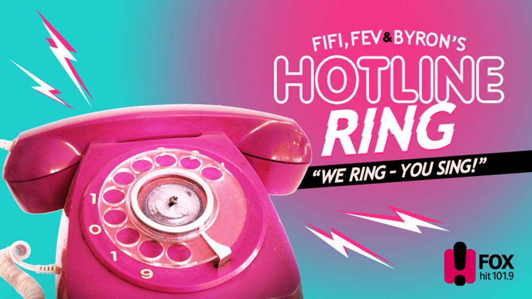 Fifi, Fev & Byron's Hotline Ring