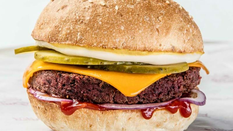 Article heading image for FINALLY: A Major Burger Chain Has Brought Out A Vegan Burger That's The Real Deal