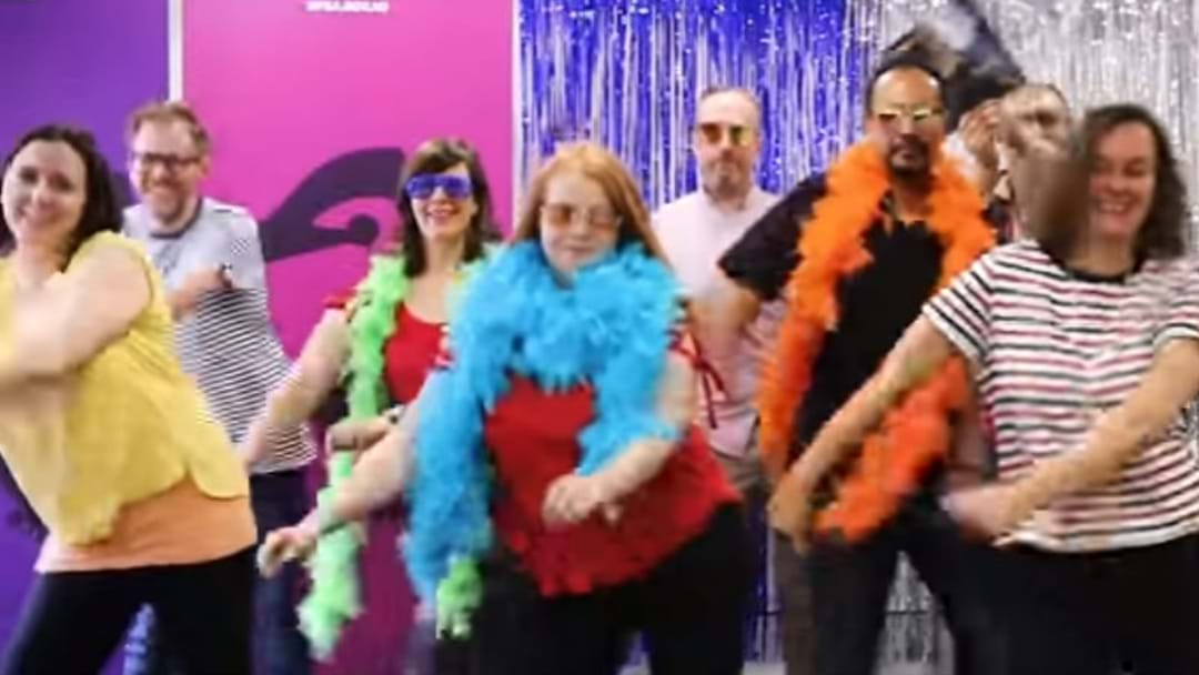 WHY HAS A CANBERRA INSTITUTION ENTERED A GLOBAL DANCE OFF?