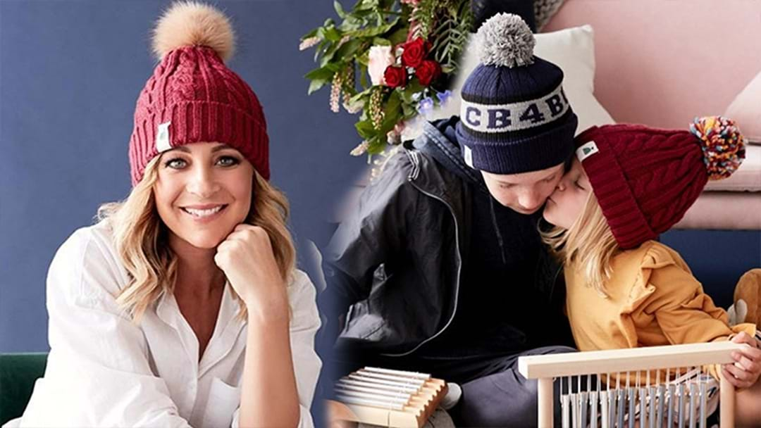 Carrie Bickmore Reveals New Designs For Her 2018 Beanies 4 Brain Cancer