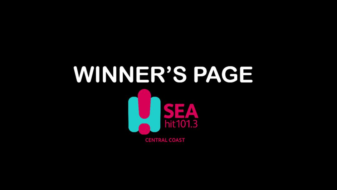 Winner's Page