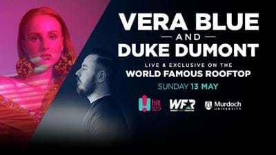 Vera Blue And Duke Dumont On The World Famous Rooftop