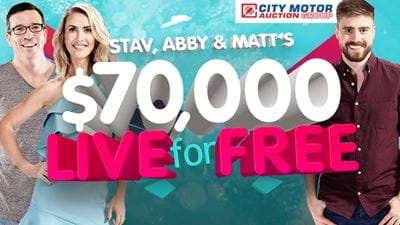 Stav, Abby & Matt want you to Live for Free!