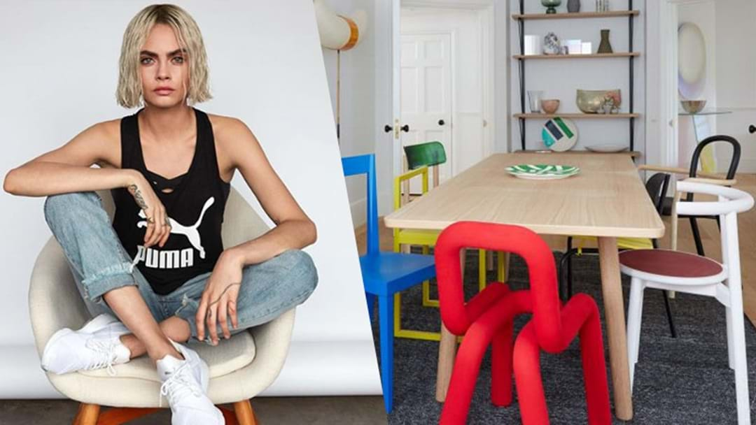 PICS: Cara Delevingne's New Home Is Next Level WEIRD But We LOVE It