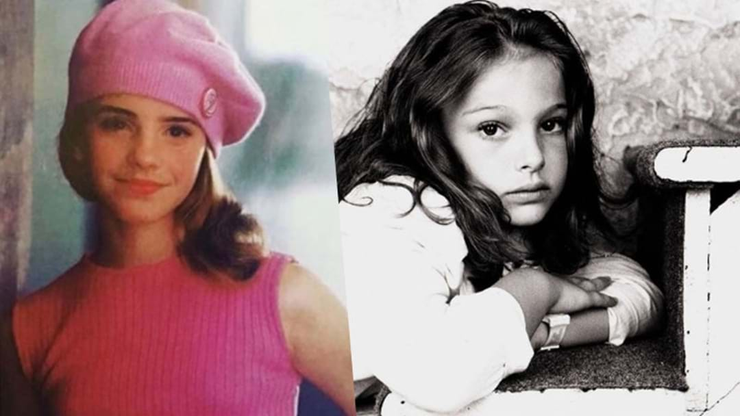 Celebs Share Pics For #OldHeadshotDay & They're So Darn Cute!