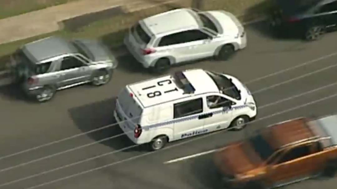 Police Operation Underway In Campbelltown
