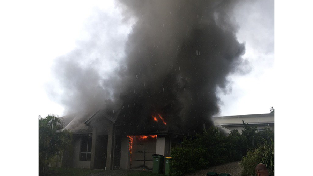 Young heroes save dogs from burning Gold Coast home