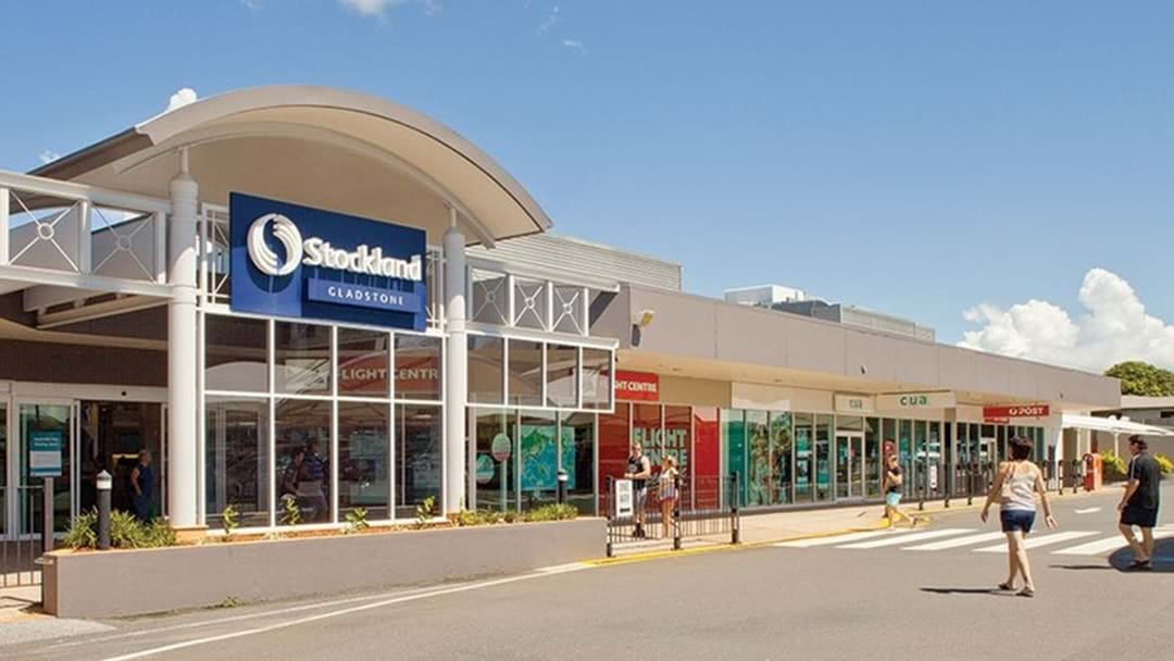 Gladstone's Stockland Shopping Centre out of Action yesterday