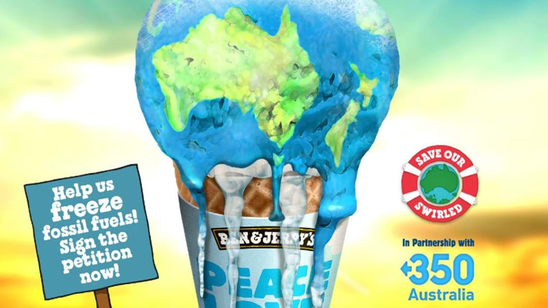 HELP THE PLANET AND ENJOY FREE ICE CREAM