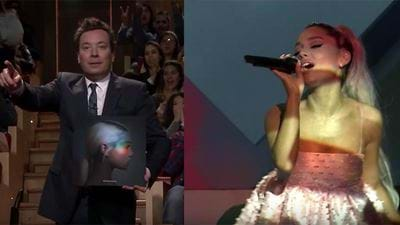 Ariana Nails Her First TV Performance
