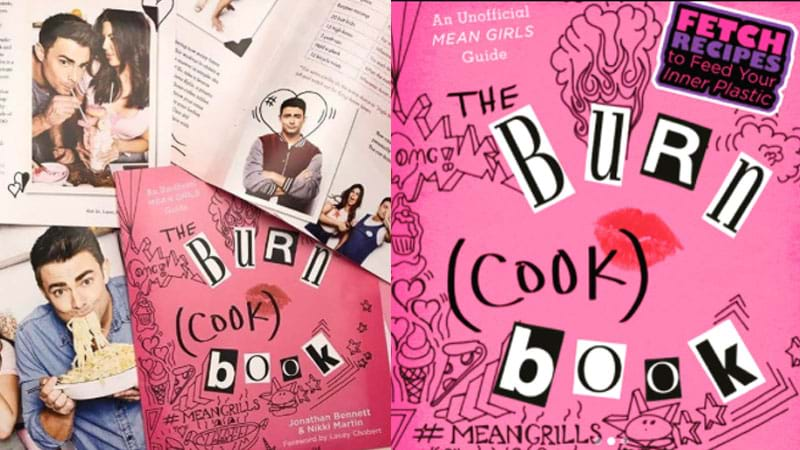 Article heading image for Mean Girls' Jonathan Bennett Released A 'Burn (Cook) Book & It's So Fetch