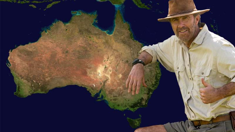 Article heading image for NEW 'All Aussie Adventures' Clip Shows Russell Coight At Top Of His Game