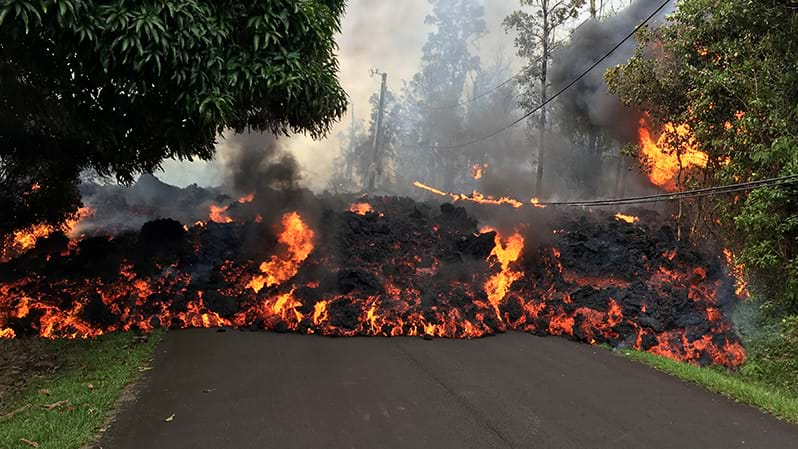 Article heading image for More Incredible Footage Of Hawaiian Volcanic Eruption Emerge