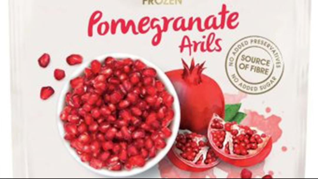 Two People Hospitalised Over Frozen Pomegranate