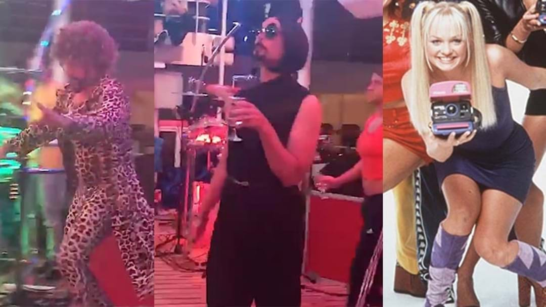The Backstreet Boys Doing Drag As The Spice Girls Will Make Your Day