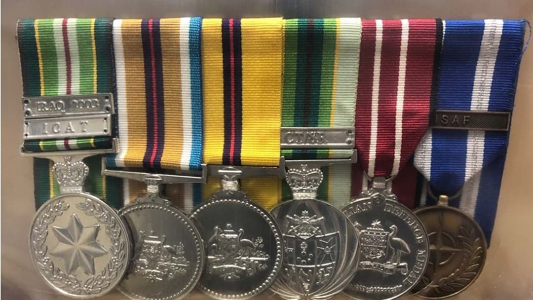 Military Medals Found in Toowoomba
