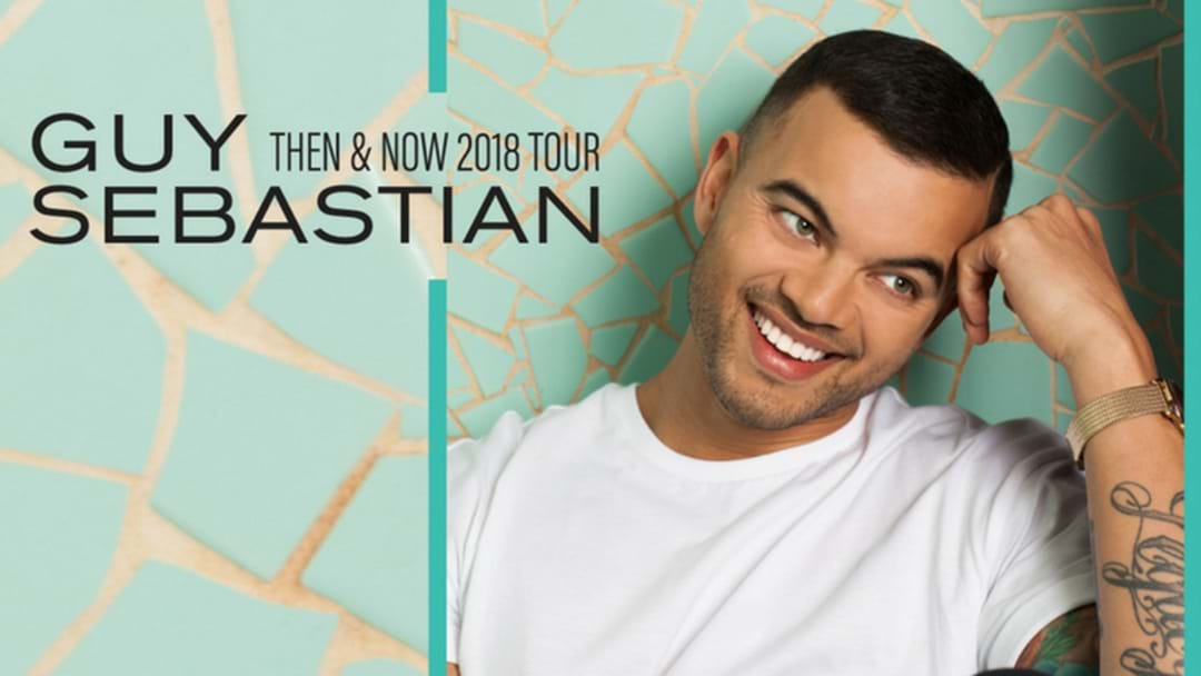 Guy Sebastian Is Playing On The Fraser Coast This July!