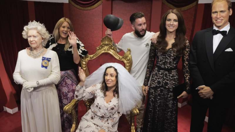 Article heading image for Madame Tussauds Sydney Is Offering Free Entry To Celebrate Royal Wedding