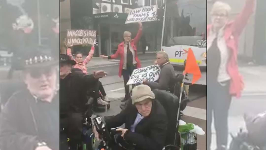 Protests For More Accessible Tram Services